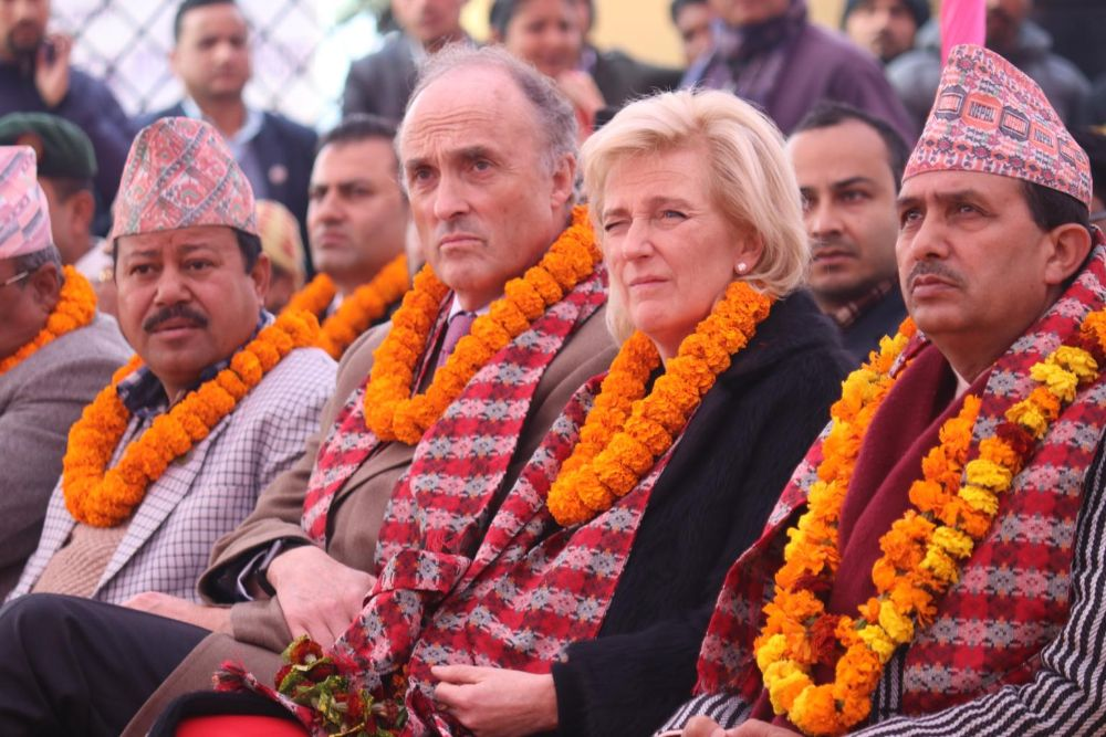 Opening-Ceremony-of-Laxmi-Narayan-TB-Treatment-Referral-and-Research-Center-in-Kailali