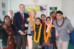 HRH-Princess-Astrid-and-HRH-Prince-Lorenz-of-Belgium-with-Leprosy-affected-Children-in-Nawalparasi